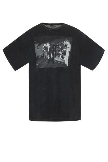 R13 Joy Division Warsaw Curtis Oversized T Shirt 1