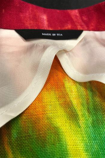 R13 Tie Dye Rainbow Boyfriend Blazer 2