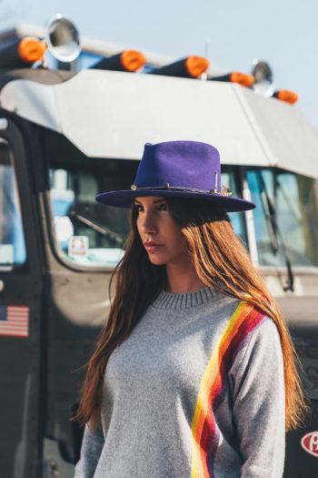 NICK FOUQUET Hat purpura 2
