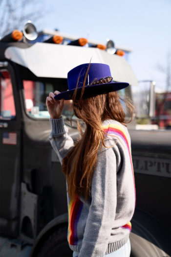 NICK FOUQUET Hat purpura 3