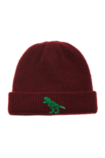 THE ELDER STATESMAN Watchman Cap With T Rex Patch 1