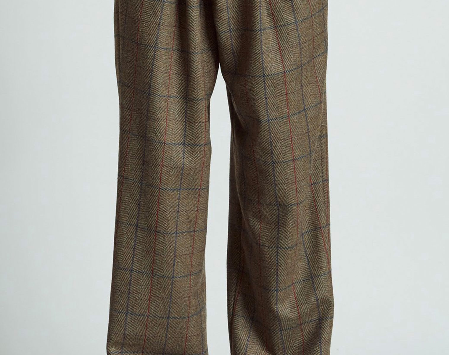 R13 Triple Pleat Cross Over Pant 1