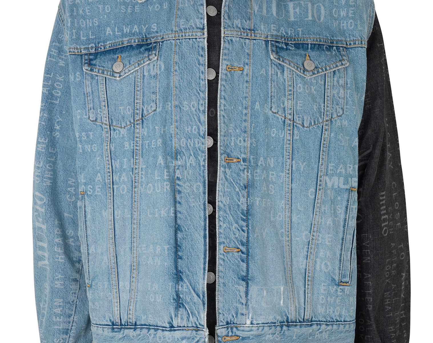 MUF10 Double Denim Lumber Jacket 1
