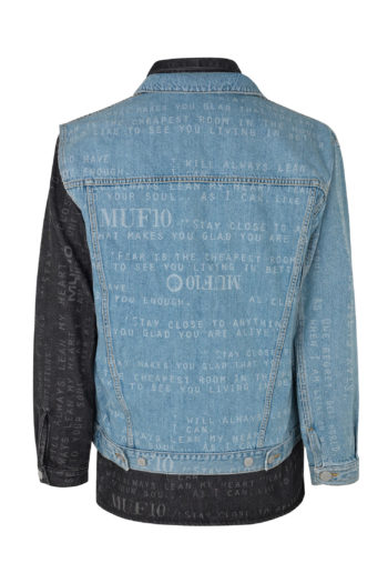 MUF10 Double Denim Lumber Jacket 2