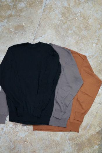DEVOA Crew Neck Knit Sweater 1