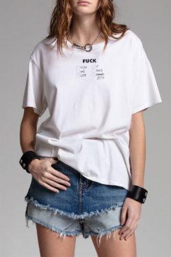 R13 Check All That Apply Boy T Shirt