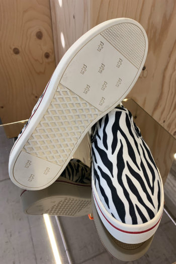 R13 Zebra Slip On Sneaker 3
