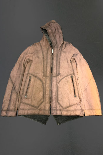 ISAAC SELLAM Reversible Copper Dyed Reflective Seam Taped Parka 4