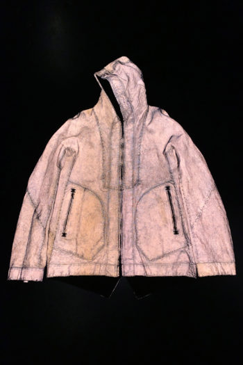ISAAC SELLAM Reversible Copper Dyed Reflective Seam Taped Parka 5