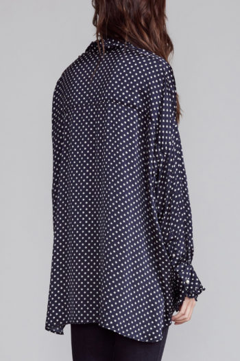 R13 Drop Neck Tuxedo Shirt 3