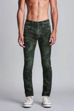 R13 Skate Jeans Green Camo 1