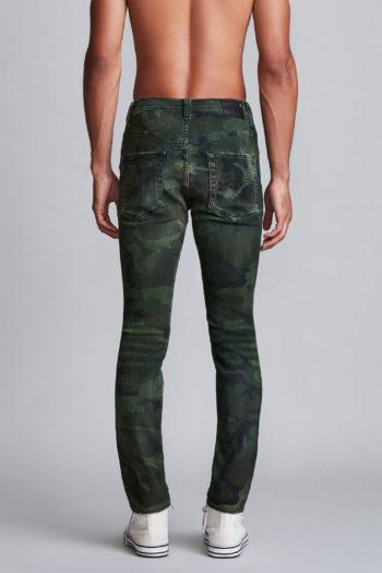 R13 Skate Jeans Green Camo 3