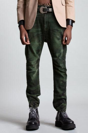 R13 Skate Jeans Green Camo 4