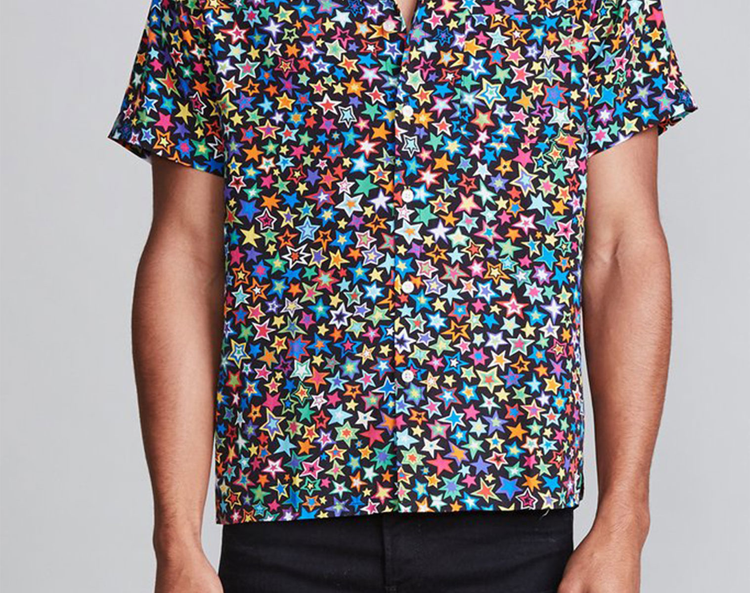R13 Tony Shirt Multi Star 1