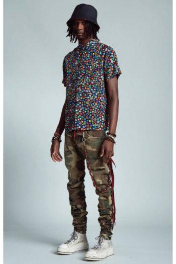 R13 Tony Shirt Multi Star 4