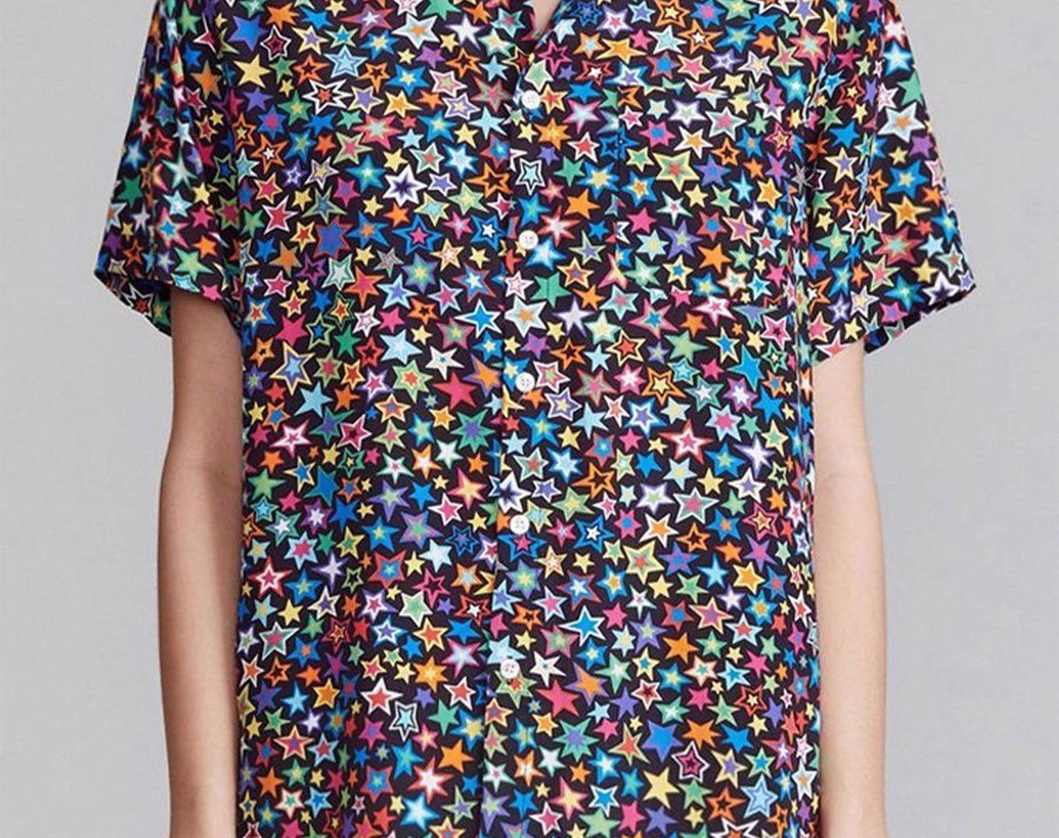 R13 Tony Shirt Multi Star women 1