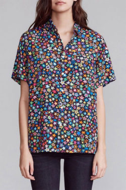 R13 Tony Shirt Multi Star women 1