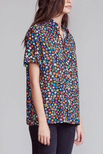 R13 Tony Shirt Multi Star women 2