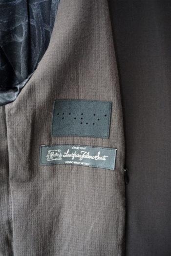 DEVOA 4Way Stretch Light Wool Blouson Jacket 3