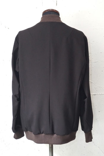 DEVOA 4Way Stretch Light Wool Blouson Jacket 4