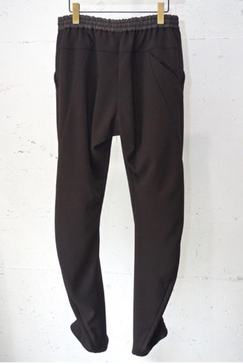 DEVOA 4Way Stretch Light Wool Drawstring Waist Slim Pants 3