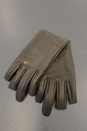 DEVOA Leather Gloves With Cut Off Fingertips 2
