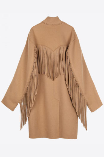 R13 Fringe Raw Cut Coat 3