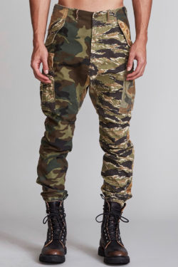 R13 Military Cargo Pants 1