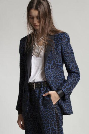 R13 Shawl Lapel Tuxedo Blazer 1