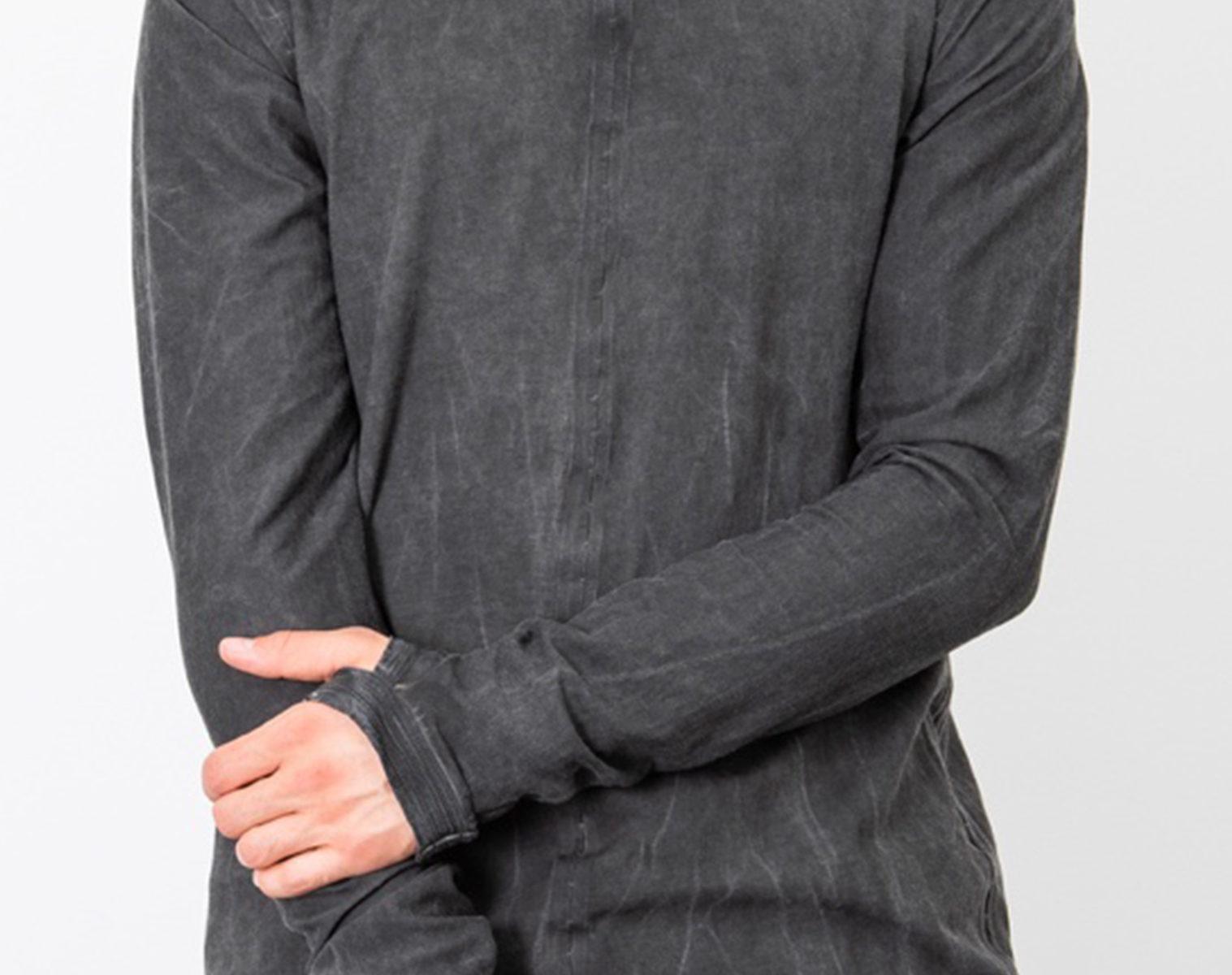 ISAAC SELLAM Reversible Long Shirt Seam Taped 1 1