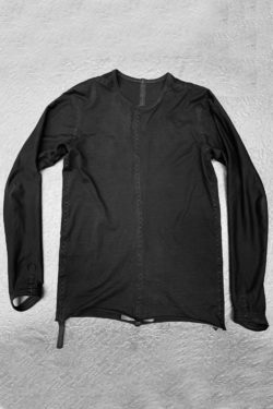 ISAAC SELLAM Reversible Long Shirt Seam Taped 1
