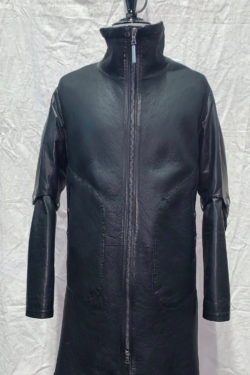 ISAAC SELLAM Shearling Leather Coat 1