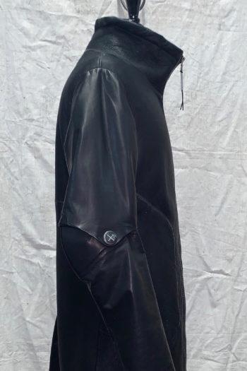 ISAAC SELLAM Shearling Leather Coat 2