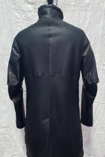 ISAAC SELLAM Shearling Leather Coat 3