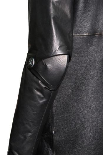 ISAAC SELLAM Shearling Leather Coat 8