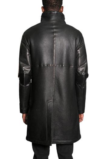 ISAAC SELLAM Shearling Leather Coat 9