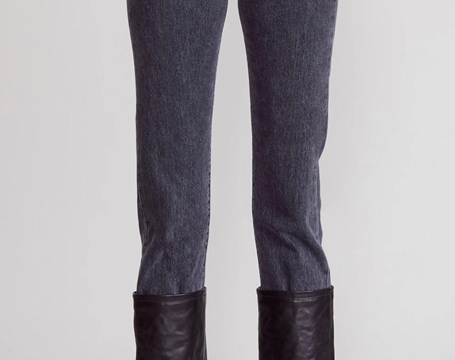 R13 Axl Slim Jeans W Leather Cuff 1