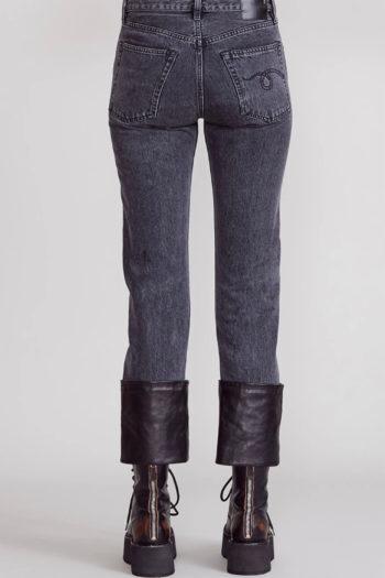 R13 Axl Slim Jeans W Leather Cuff 2