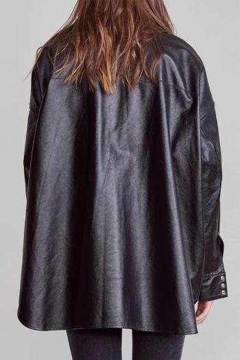 R13 Oversized Cowboy Leather Shirt 5