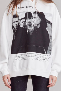 R13 U2 Death Valley Oversized Hoodie 1