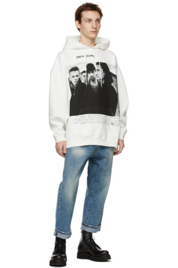 R13 U2 Death Valley Oversized Hoodie 4