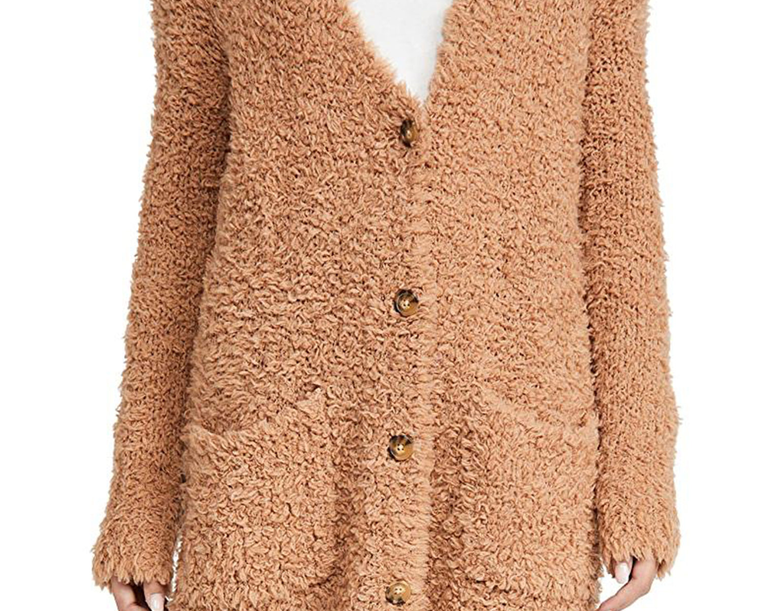 R13 Teddy Bear Cardigan 1