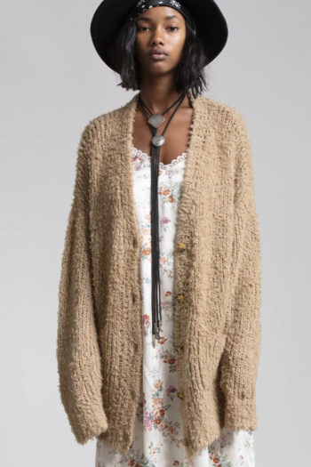 R13 Teddy Bear Cardigan 4