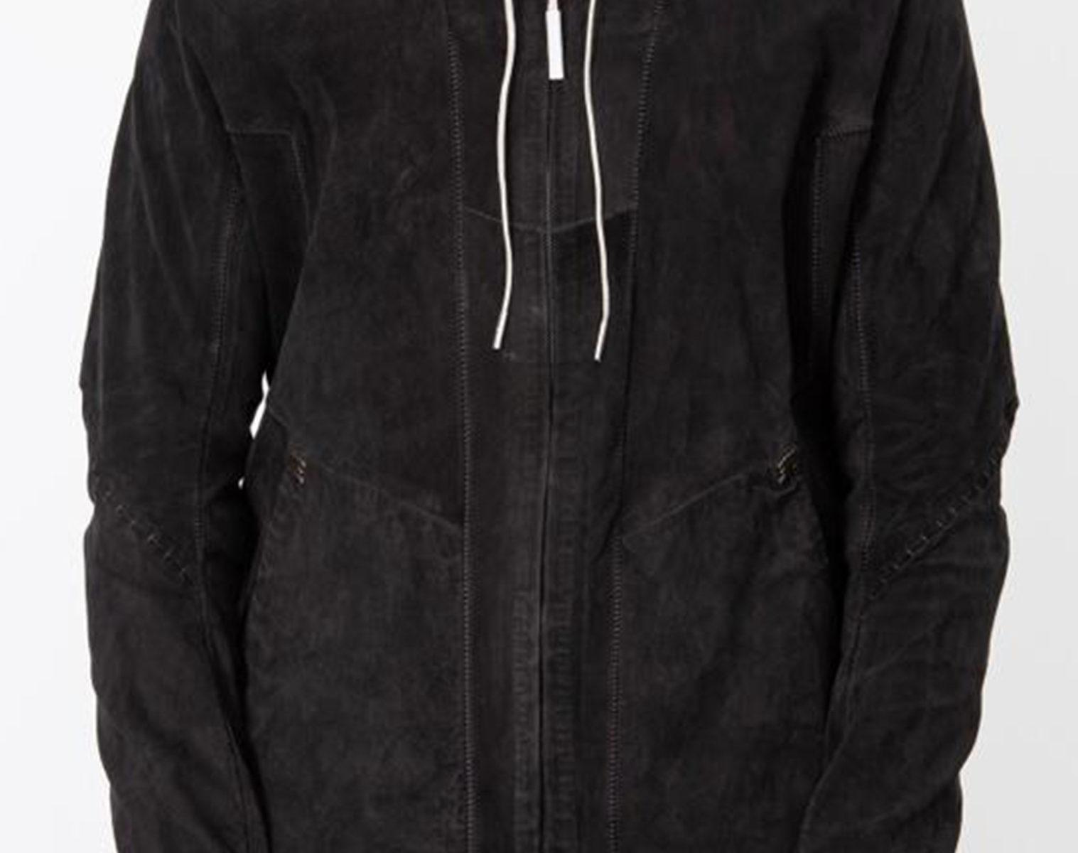 ISAAC SELLAM Zip Up Hooded Jacket 1 1