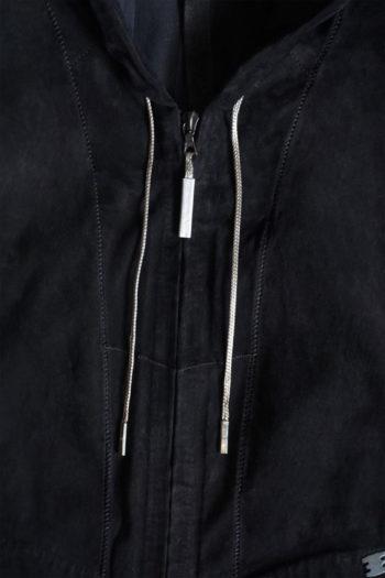 ISAAC SELLAM Zip Up Hooded Jacket 2 1