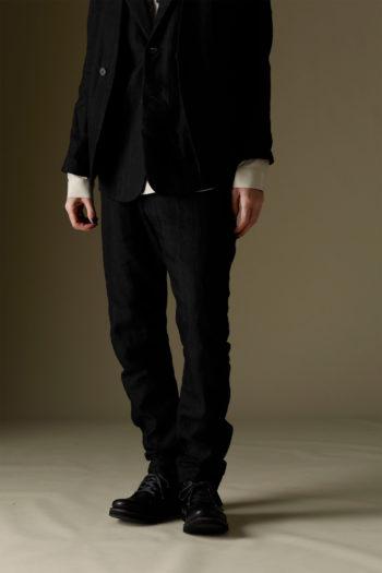 DEVOA Drawstring Waist Slim Pants 4