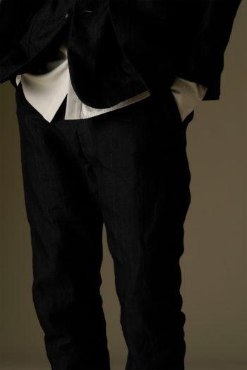 DEVOA Drawstring Waist Slim Pants 5