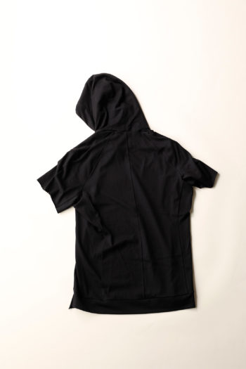 DEVOA Short Sleeve Hooded Sweater 2