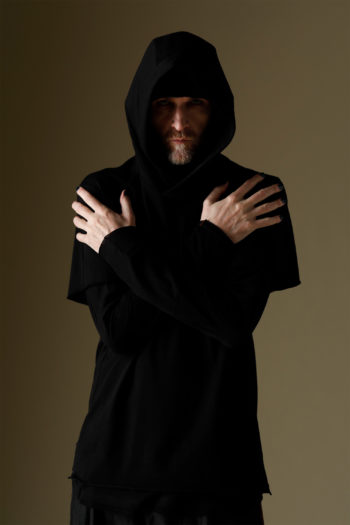 DEVOA Short Sleeve Hooded Sweater 3