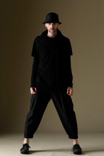 DEVOA Short Sleeve Hooded Sweater 5